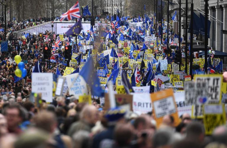 Brexit march: A carnival of colour as a million people turn protest into a party