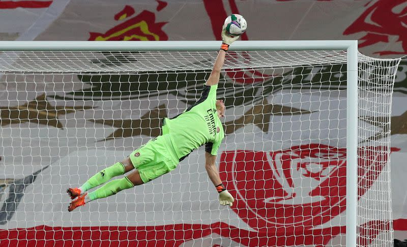 Leno says he never feared for Arsenal spot