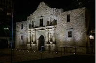 """<p><strong>The Alamo - San Antonio, TX</strong></p><p>One of the most historic places in Texas is also one of the most haunted. The building that served as a post during the pivotal Battle at the Alamo in 1836 still stands to this day. While the structure currently hosts a museum, <a href=""""https://ghostcitytours.com/san-antonio/haunted-places/alamo/"""" rel=""""nofollow noopener"""" target=""""_blank"""" data-ylk=""""slk:reports suggest"""" class=""""link rapid-noclick-resp""""> reports suggest</a> that those who fought in the battle never left the land. <br></p><p>Photo: Flickr/<a href=""""https://www.flickr.com/photos/nanpalmero/15442494764/in/photolist-pwAPFJ-goHJqn-8RmiBZ-94oDPE-8CHHRP-7ooH1t-9KHZDL-kX8TB5-GREybx-9H2Ya7-7HEU2q-i82YZf-8eobT4-7D6EuT-VBcyBt-3cYzDr-eemCpH-7nFzLH-bB3h3a-a7J2eW-q5MzTm-edY6Sh-nyQdh8-eesPpj-r3PPTB-4ZaWLo-6f6fuE-gw8wn-7w36GJ-95P6mi-dTbRhN-8Ac7hP-7XRywW-8MDrGQ-eB1qWt-52A3ug-7m9eX4-7o3xsn-94kA2p-a3MorK-7wiLDw-goHSMo-7MufFU-83j1qJ-88oZQX-e8oy7-72yCr-QxPM5D-fEtfge-7oa7Rz"""" rel=""""nofollow noopener"""" target=""""_blank"""" data-ylk=""""slk:Nan Palmero"""" class=""""link rapid-noclick-resp"""">Nan Palmero</a></p>"""