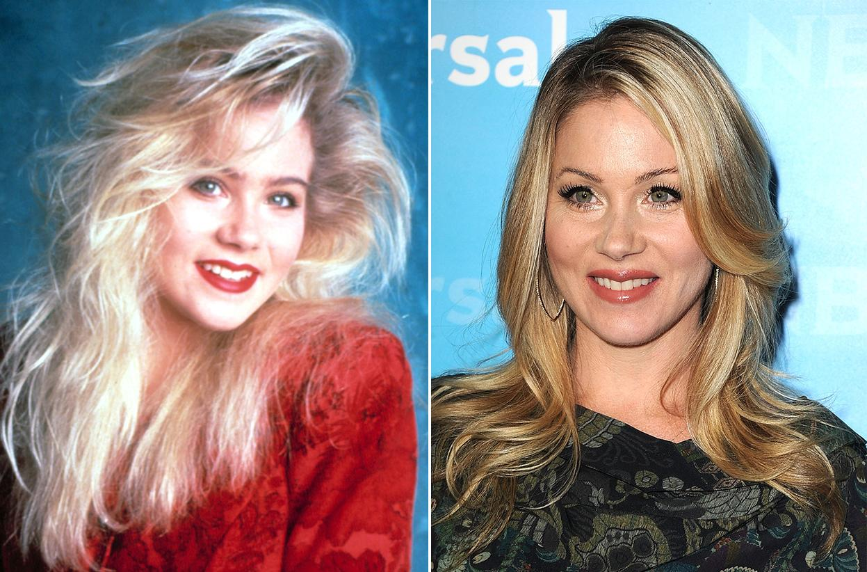 "Christina Applegate -- a Golden Globe nominee for her performance in ""Samantha Who?"" -- made the most of the bleached blond hair and the black eyeliner she wore through most of her ""Married with Children"" days. These days, her effortless style does not require caked-on mascara."