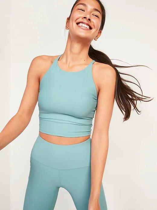 <p>This <span>Old Navy Light Support Powersoft Longline Sports Bra</span> ($30) is one of those pieces you'll wear on repeat.</p>