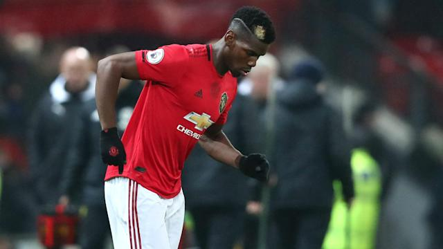 Manchester United face Arsenal away on Wednesday, but Paul Pogba is missing yet again.