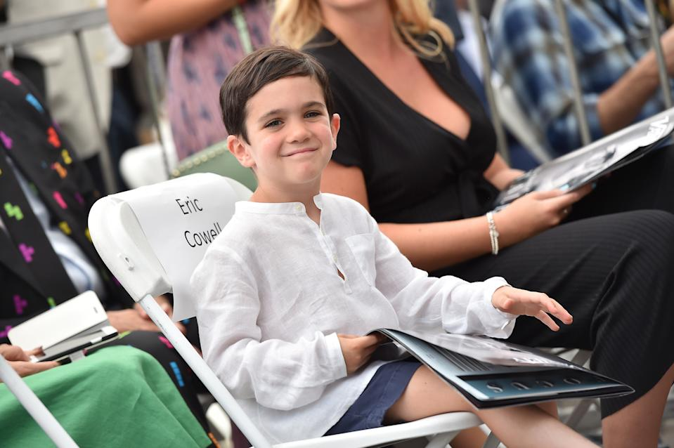 HOLLYWOOD, CA - AUGUST 22:  Eric Cowell attends the ceremony honoring Simon Cowell with star on the Hollywood Walk of Fame on August 22, 2018 in Hollywood, California.  (Photo by Axelle/Bauer-Griffin/FilmMagic)