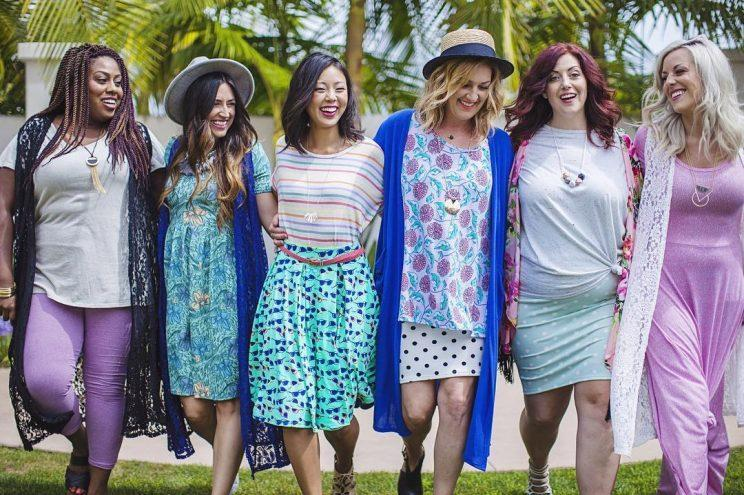 The LulaRoe apparel company: Godsend or cultish pyramid scheme? Depends on who you ask. (Photo: LuLaRoe/Instagram)