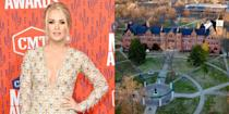 <p><strong>Northeastern State University </strong></p><p>Before Carrie Underwood won <em>American Idol</em>, she attended Northeastern State University in Tahlequah, Oklahoma. She graduated magna cum laude with a Bachelor's degree in mass communications with a concentration in journalism.</p>