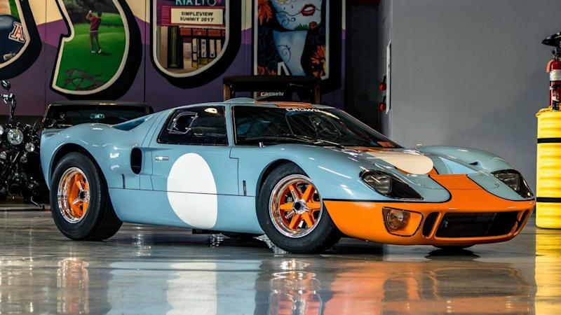 GT40 MK1 Gulf Livery Up For Grabs