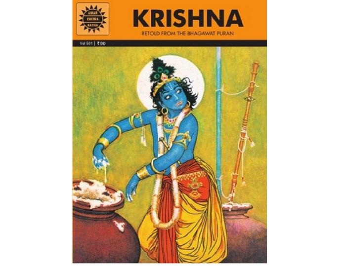 Amar Chitra Katha's first original Indian comic book, Krishna, was a big hit. With over five million copies sold, it remains their best-selling title till date, and is now more than 50 years old. Photo courtesy: Amar Chitra Katha