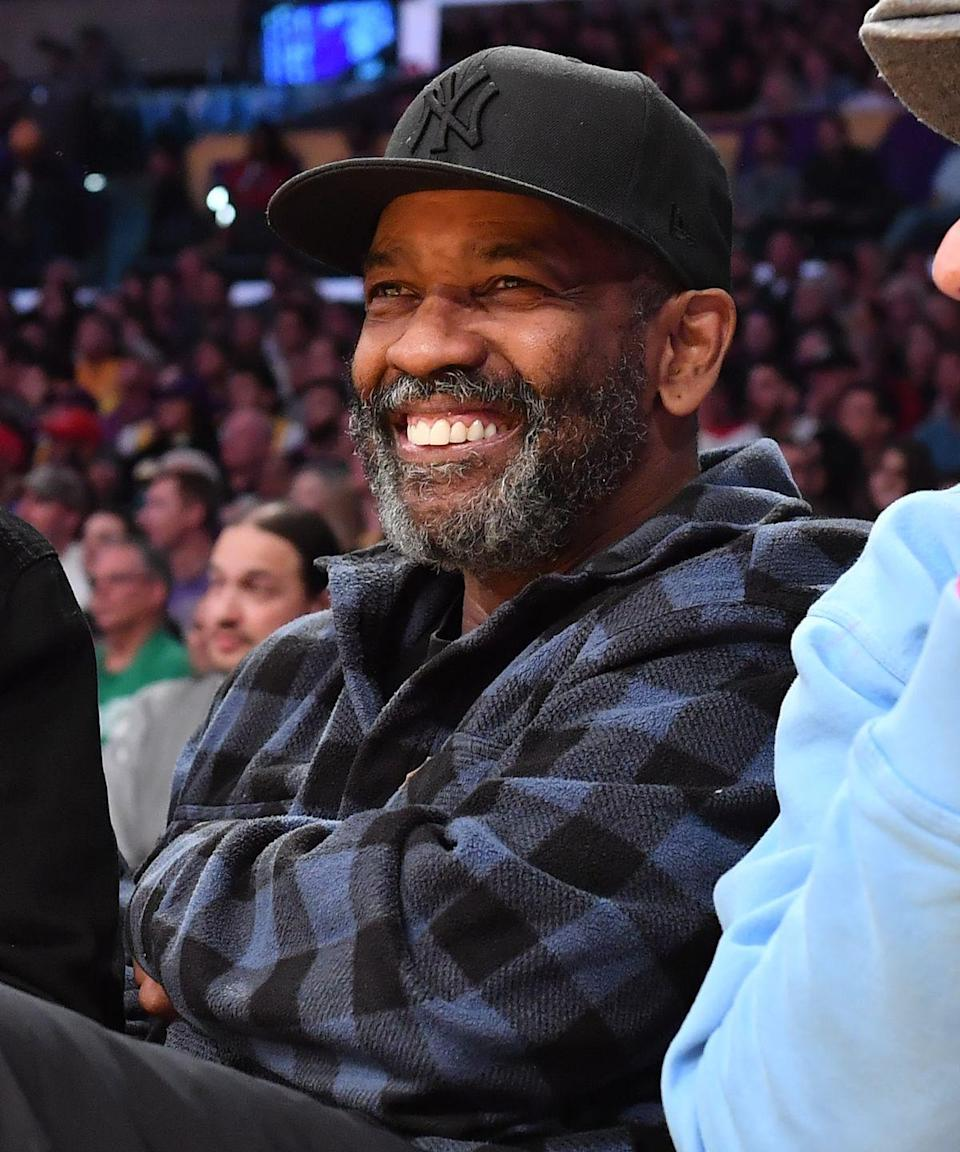 <p>In 2020, Washington finally embraced his graying beard at the age of 65 by sporting a salt and pepper beard at a Lakers game. </p>