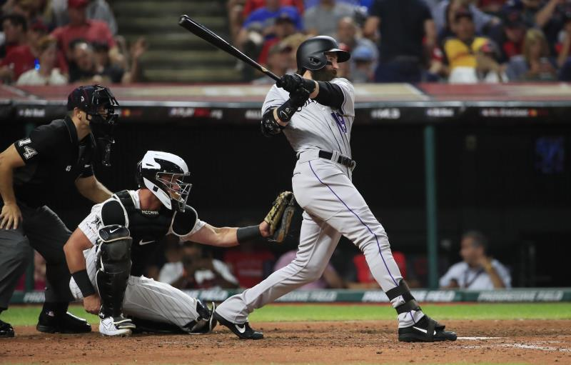 8-4. Blackmon pega grand slam contra los Angelinos