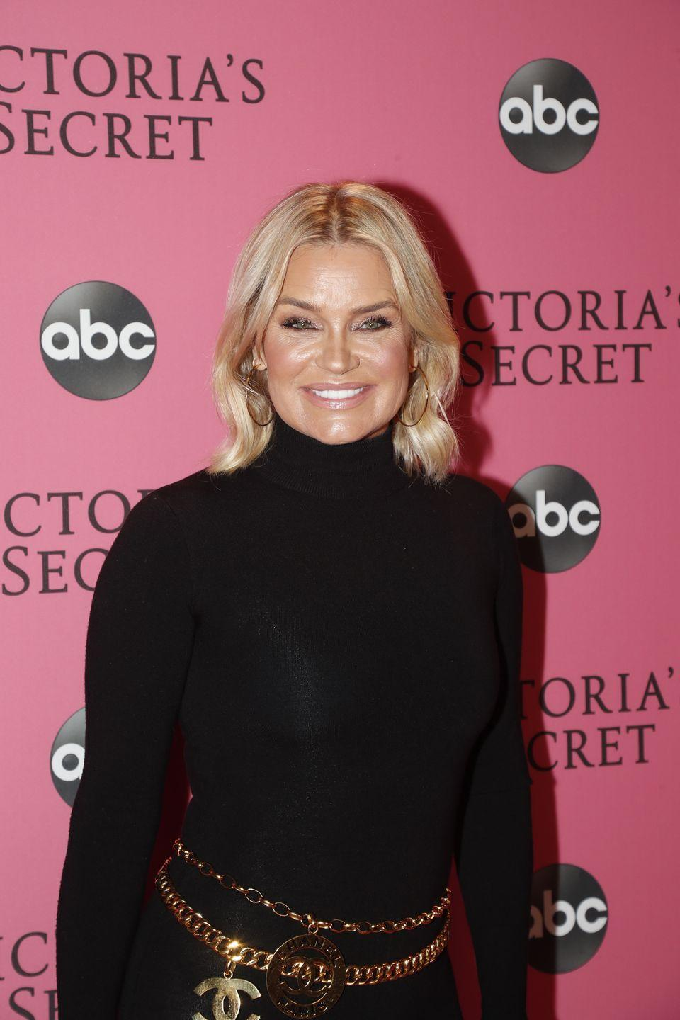 """<p>""""Fifty five and smiling from the inside out...finally back to the original 1964,"""" Yolanda Hadid wrote in an Instagram caption. """"Living in a body free of breast implants, fillers, botox, extensions and all the bullshit I thought I needed in order to keep up with what society conditioned me to believe what a sexy woman should look like until the toxicity of it all almost killed me,"""" she wrote. Hadid has previously spoken out about how she stopped getting Botox injections and dermal fillers years ago after being diagnosed with Lyme.</p>"""
