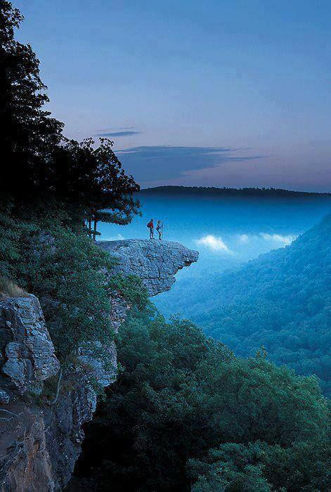 """<p><a href=""""http://www.buffaloriver.com/pages/whitaker-point-trail-hawksbill-crag/ """" rel=""""nofollow noopener"""" target=""""_blank"""" data-ylk=""""slk:Whitaker Point"""" class=""""link rapid-noclick-resp"""">Whitaker Point</a> is one of the most romantic overlooks you'll ever see in real life. The craggy rock gives you a dramatic view of the surrounding landscape, though the journey to Whitaker Point is just as stunning, with wildflowers galore in the spring (not to mention a lovely waterfall area). <span class=""""redactor-invisible-space"""">(Flickr photo by <a href=""""https://flic.kr/p/kkGYPE """" rel=""""nofollow noopener"""" target=""""_blank"""" data-ylk=""""slk:2il org"""" class=""""link rapid-noclick-resp"""">2il org</a>)</span></p>"""