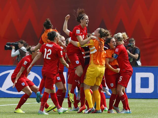 The 2015 Women's World Cup was England's best result since 1966 (Getty)