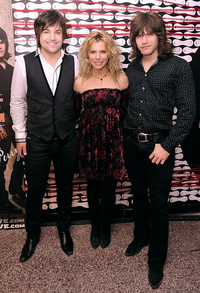 "If you ever turn off your iPod and turn on the radio, chances are good that you've heard The Band Perry's ballad ""If I Die Young,"" which landed the No. 1 spot on Billboard's adult contemporary   chart late last year, nearly a year after it nabbed the same spot on the country chart. ""We sort of feel like we're part of the country evangelism team,"" the band's Kimberly Perry told   <a target=""_blank"" href=""http://www.billboard.com/news/the-band-perry-so-honored-with-cma-wins-1005501602.story#/news/the-band-perry-so-honored-with-cma-wins-1005501602.story"">Billboard</a>. ""We love to hear country songs on pop radio."" (8/30/2012)"
