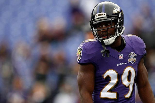 "<a class=""link rapid-noclick-resp"" href=""/nfl/players/9010/"" data-ylk=""slk:Justin Forsett"">Justin Forsett</a> may not be the top dog in Baltimore's backfield for long. (Photo by Matt Hazlett/Getty Images)"