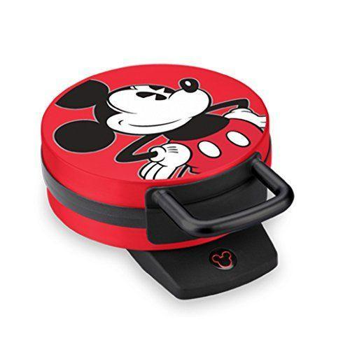 """<p><strong>Disney</strong></p><p>amazon.com</p><p><strong>$32.99</strong></p><p><a href=""""https://www.amazon.com/dp/B01AVWGBG8?tag=syn-yahoo-20&ascsubtag=%5Bartid%7C2140.g.33847080%5Bsrc%7Cyahoo-us"""" rel=""""nofollow noopener"""" target=""""_blank"""" data-ylk=""""slk:Shop Now"""" class=""""link rapid-noclick-resp"""">Shop Now</a></p><p>Bring on the nostalgia (and delicious breakfasts) with this waffle maker.</p>"""