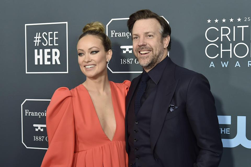 "<h1 class=""title"">Olivia Wilde and Jason Sudeikis</h1><cite class=""credit"">David Crotty/Getty Images</cite>"