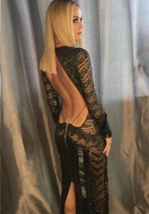 "Amanda Holden's ""stripper"" dress has landed her the most complaints to U.K. TV watchdog Ofcom for 2017. (Photo: Instagram)"