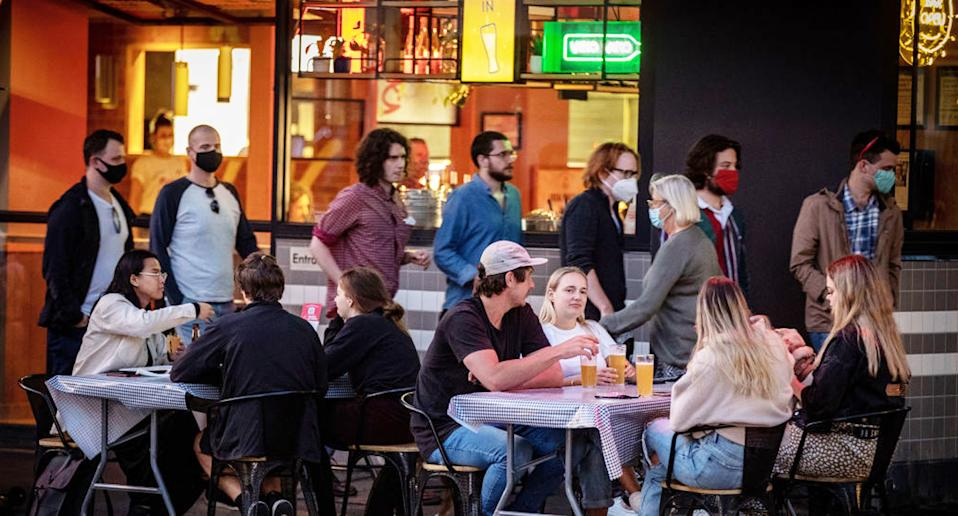 Melburnians have been enjoying the end of lockdown as the hospitality sector looks to get back on its feet. Source: Getty