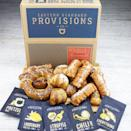 """<p>esprovisions.com</p><p><strong>$59.99</strong></p><p><a href=""""https://esprovisions.com/collections/gifts-variety-boxes/products/gourmet-soft-pretzel-gift-box"""" rel=""""nofollow noopener"""" target=""""_blank"""" data-ylk=""""slk:Shop Now"""" class=""""link rapid-noclick-resp"""">Shop Now</a></p><p>This gourmet soft pretzel gift box was named one of Oprah's Favorite Things in 2019. The handcrafted pretzels are topped off with artisanal salts in flavors like white truffle, lemon rosemary, and chili lime.</p>"""
