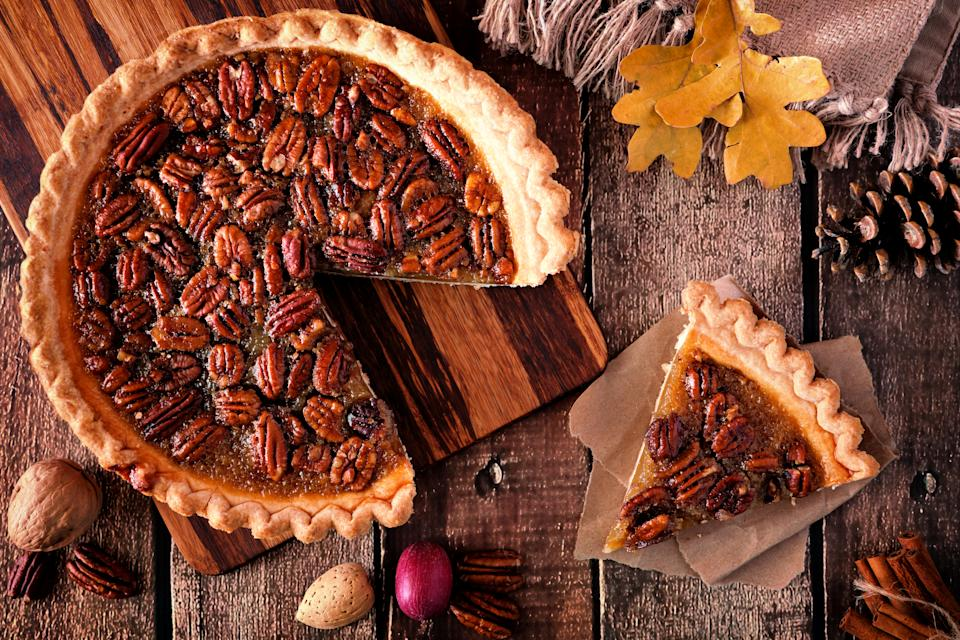 A corn syrup manufacturer popularized pecan pie. (Photo: Getty)