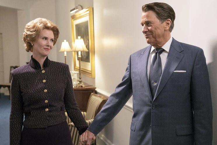Cynthia Nixon and Tim Matheson (Credit: Hopper Stone/National Geographic Channels)
