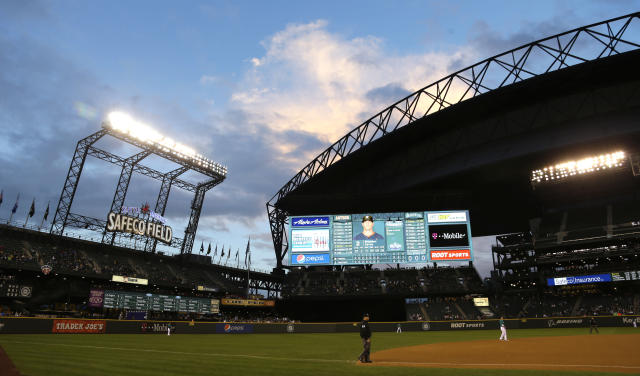 The Mariners would like some money in order to continue playing at Safeco Field in Seattle. (AP Photo)