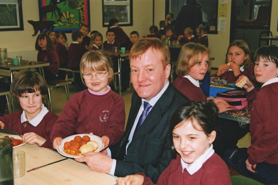 Charles Kennedy campaigned to keep Mulbuie Primary in the Muir of Ord open
