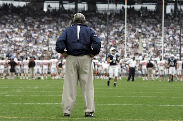 Penn State to 'commemorate' 50th anniversary of Joe Paterno's first game
