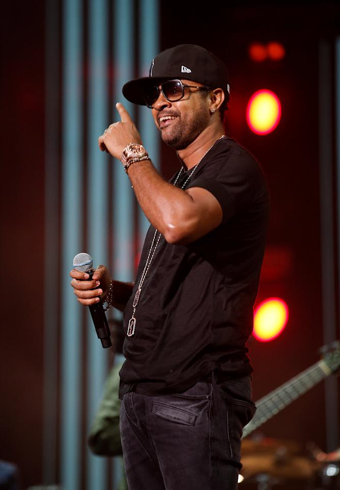 Singer Shaggy performs during the 15th Mawazine World Rhythms International Music Festival in Rabat, Morocco May 26, 2016. REUTERS/Youssef Boudlal