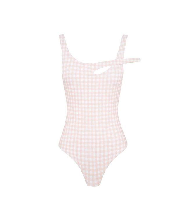 "<p>Isadore Full Piece, $280, <a href=""https://www.skyeandstaghorn.com/products/isodore-full-piece-blush-gingham"" rel=""nofollow noopener"" target=""_blank"" data-ylk=""slk:skyeandstaghorn.com"" class=""link rapid-noclick-resp"">skyeandstaghorn.com</a> </p>"