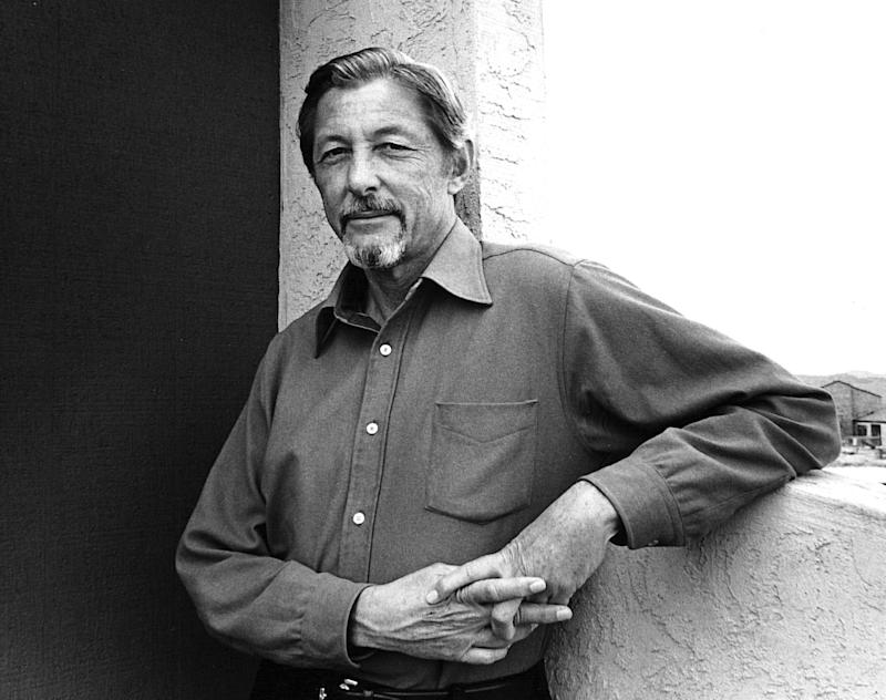 """In this 1982 image provided by Counterpoint Press, author Evan S. Connell poses for a photo in Santa Fe, N.M. The acclaimed author, whose literary explorations ranged from Depression-era Kansas City in the twin novels """"Mrs. Bridge"""" and """"Mr. Bridge"""" to Custer's last stand,  """"Son of the Morning Star: Custer and the Little Bighorn,"""" was found dead Thursday Jan. 10, 2013, in his Santa Fe apartment, his niece said. He was 88. (AP Photo/Courtesy of Counterpoint Press)"""