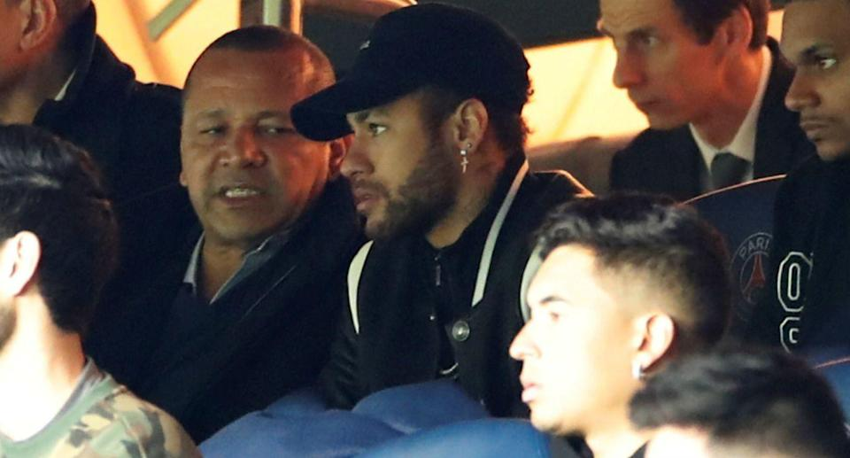 Neymar did not hold back in criticizing the referees following Paris Saint-Germain's Champions League stunner. (Reuters)