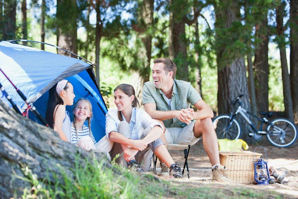"""<p>Vacationers are turning to campgrounds for a responsible, safe getaway, according to Caleb Hartun, the CEO of Campspot. A rustic tent site in a dark sky region with no internet access may be your cup of tea. Or, perhaps a canvas glamping tent with a kitchenette, queen bed, and lake access is more your style. There's no one right way to camp. """"Camping doesn't have to mean trekking cross-country to a remote area,"""" says Hartun. """"There are likely many wonderful campgrounds and RV parks within a short driving distance to where you live."""" </p><p>Hartun also recommends researching nearby and onsite amenities. """"Some parks shine based on the amenities they offer directly on their properties, such as expansive waterparks, laser tag areas, or themed weekend events,"""" he says. """"Other campgrounds are desirable for their proximity to historic sites, national parks or famous attractions. Both factors are important to consider when planning where to stay, based on your appetite for adventure versus relaxation."""" </p><p>Many campsites require reservations and are limiting visitors, so be sure to check before you book. If you'd like some more amenities, glamping allows you to enjoy the outdoors without sacrificing luxury. Either way, you can grill outdoors, play games and enjoy s'mores by the campfire.</p>"""