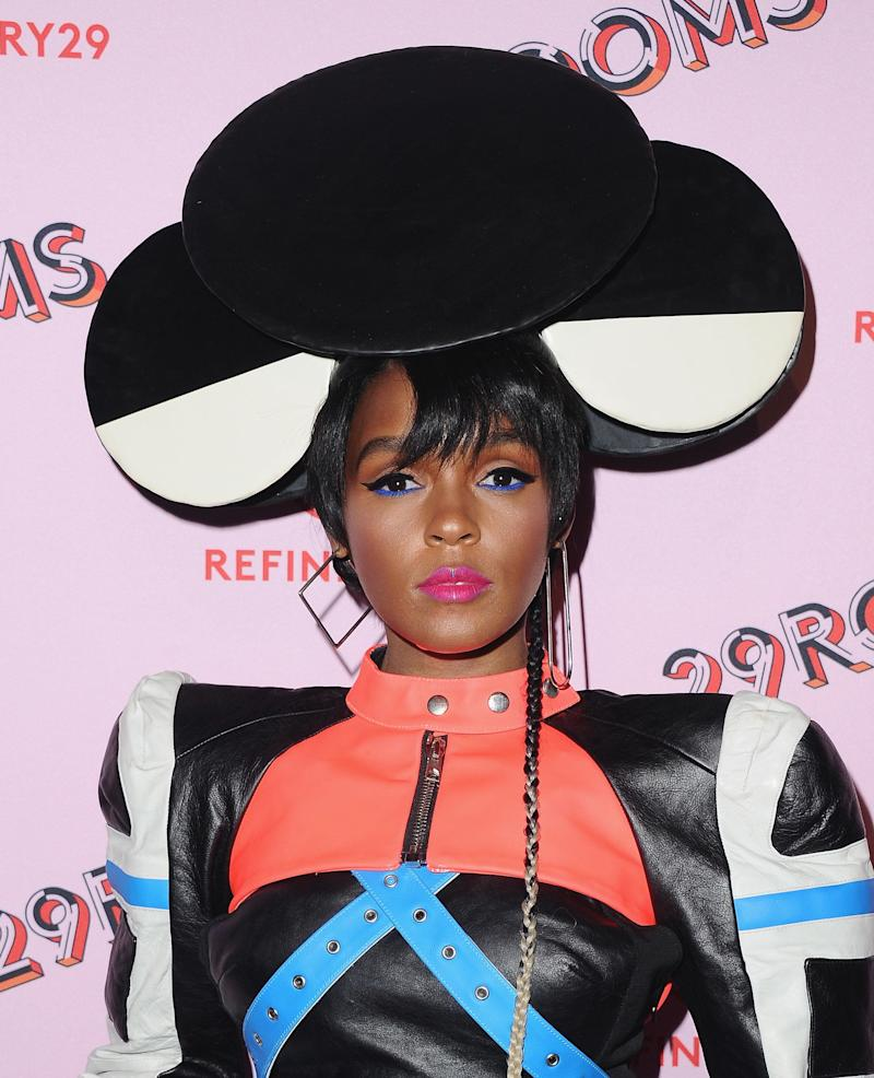 LOS ANGELES, CA - DECEMBER 06: Janelle Monae attends Refinery29 29Rooms Los Angeles: Turn It Into Art at ROW DTLA on December 6, 2017 in Los Angeles, California. (Photo by Jon Kopaloff/FilmMagic)