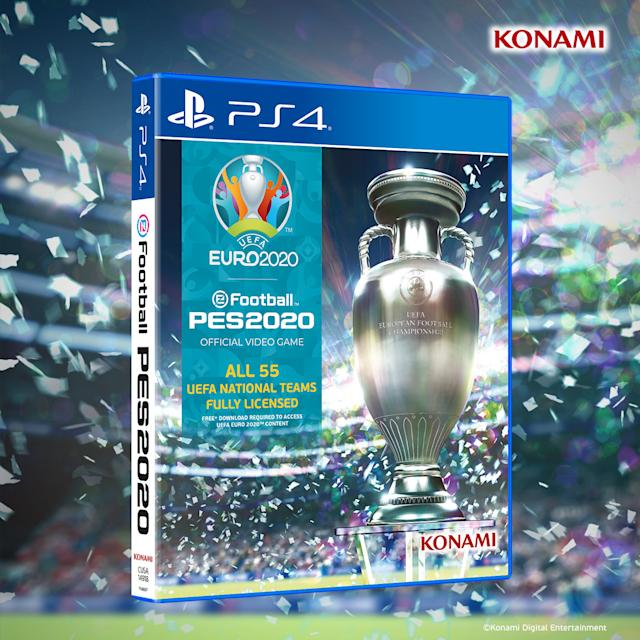 Embed only PES 2020 Euro 2020