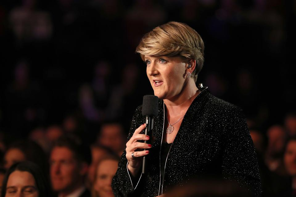 Clare Balding during the BBC Sports Personality of the Year 2018 at Birmingham Genting Arena.