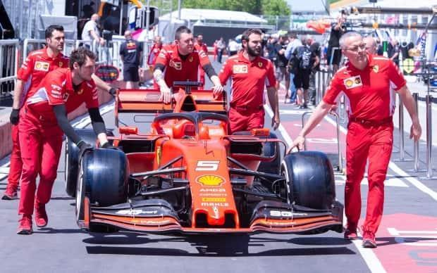 Formula One is usually a popular event in Montreal that draws thousands of tourists from around the world. This year, if its held, there will be no spectators on site. (Paul Chiasson/The Canadian Press - image credit)