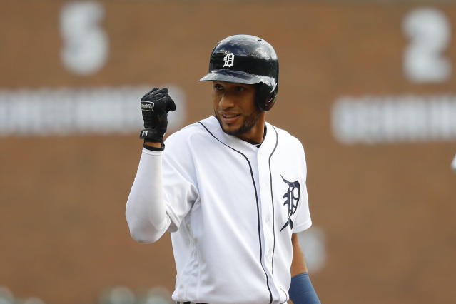 Tigers' Victor Reyes is inspiring tattoos and surging toward a job in 2020