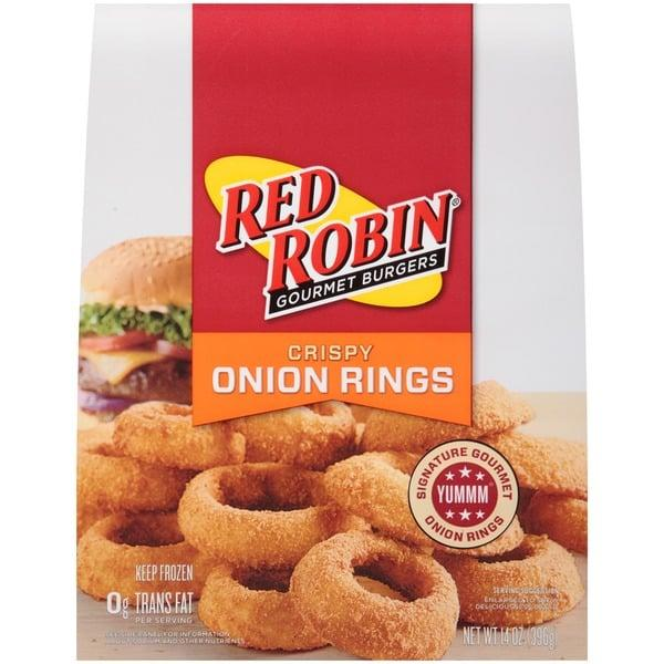 "<p>It's hard for an onion ring to be flat-out bad, but let's just say these bad boys don't live up to <a href=""https://www.popsugar.com/family/Mom-Pays-Couple-Meal-Red-Robin-43078198"" class=""ga-track"" data-ga-category=""Related"" data-ga-label=""https://www.popsugar.com/moms/Mom-Pays-Couple-Meal-Red-Robin-43078198"" data-ga-action=""In-Line Links"">Red Robin's</a> in-restaurant standards. The packaged version has a fishy and almost chemical odor that makes you wary of taking even a small nibble. If you've got another onion-ring option, definitely go with that.</p>"