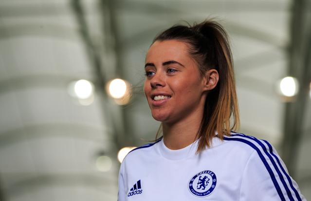 Laura Rafferty at Chelsea in 2016. (Credit: Associated Press)