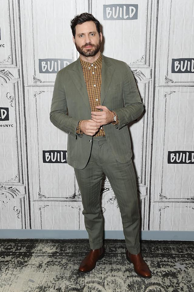Edgar Ramirez at the Build NYC Studio on Jan. 16, 2018. (Photo: Getty)