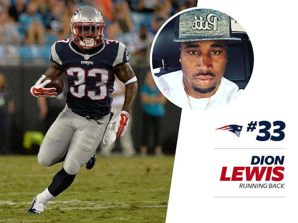 """<p>A quick look at Pats running back Dion Lewis's <a href=""""https://www.instagram.com/p/BIBdtvFBXEG/?taken-by=d_lew33&hl=en"""" rel=""""nofollow noopener"""" target=""""_blank"""" data-ylk=""""slk:Instagram"""" class=""""link rapid-noclick-resp"""">Instagram</a> shows the baller isn't afraid to suit up on and off the field. And Lewis takes the whole """"judge a man by his shoes"""" thing seriously, making trips to the store Sneaker Junkie a real event. </p>"""