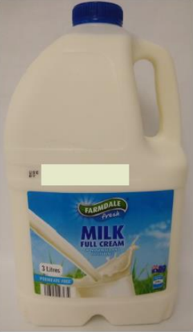 Aldi's Farmdale Full Cream milk sold at ACT and NSW stores is being recalled after fears of E. coli contamination.