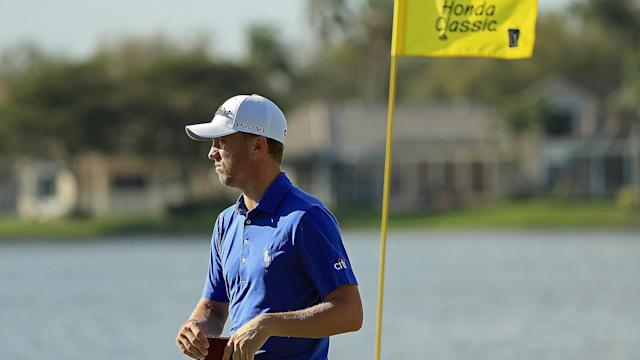 Justin Thomas may be going from the frying pan to the fire of Tiger Woods' pairings at this week's Honda Classic.