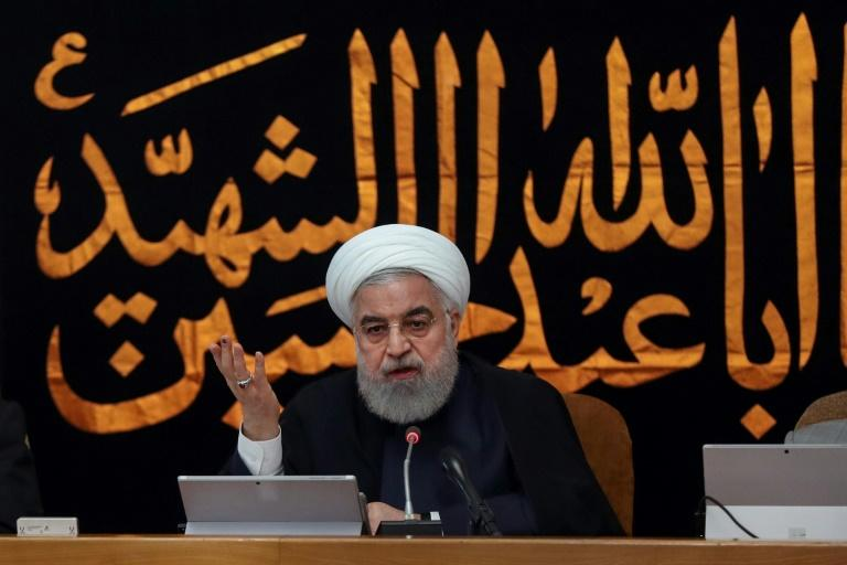 Iran's President Hassan Rouhani says he does not believe European governments attempting to rescue a 2015 nuclear deal will be able to deliver enough relief from reimposed US sanctions for Iran to delay annnouncing new cuts to its own commitments (AFP Photo/STRINGER)