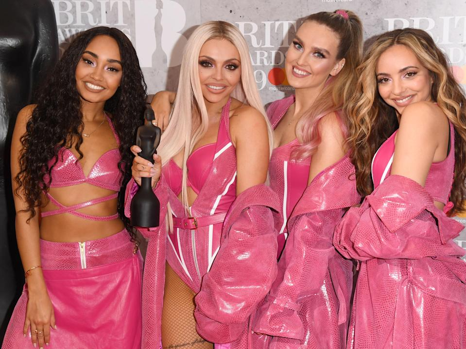 Little Mix in February 2019Getty Images