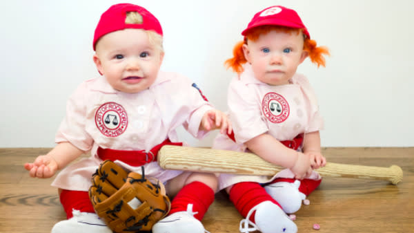 These Twins' Daily Halloween Costumes Are Beyond Adorable