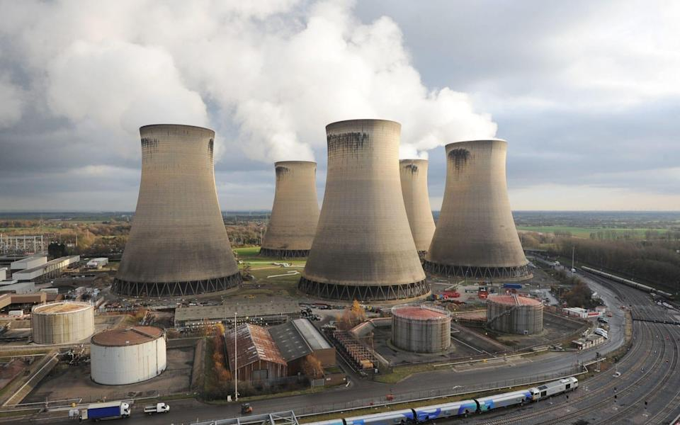 The Drax power station - Anna Gowthorpe /PA