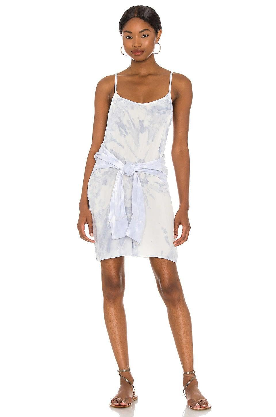 <p>Keep it casual with this <span>n:philanthropy x REVOLVE Willa Dress in Morning Dew Tie Dye</span> ($50, originally $208). Pair it with a jean jacket and sneakers for a stylish daytime look. </p>
