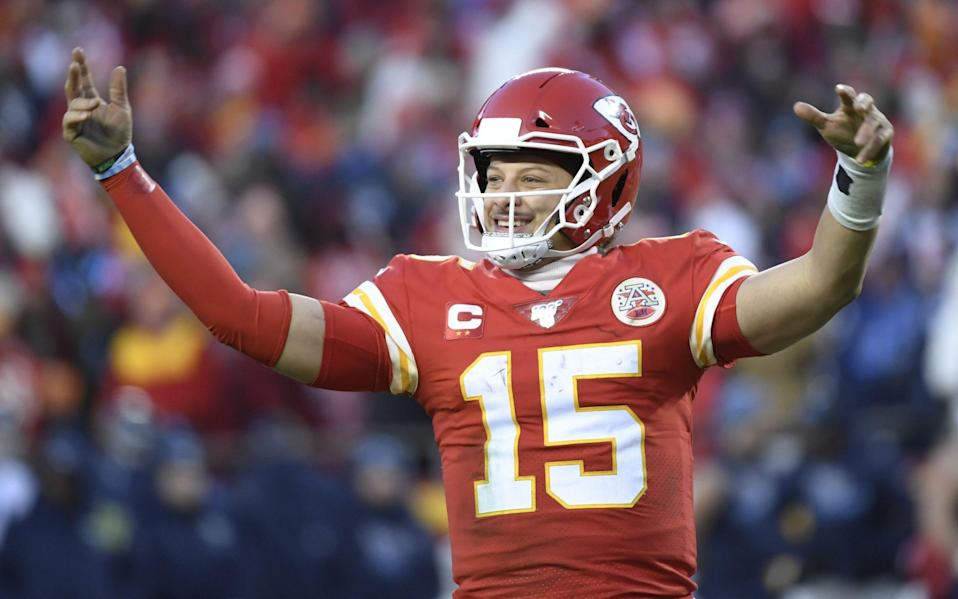 It will be Kansas City Chiefs quarterback Patrick Mahomes' first Super Bowl - REX